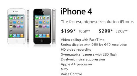 iphone 4 prices everything you need to about the new apple iphone 4