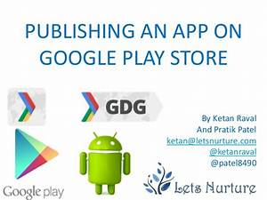 Publishing an app for google play store