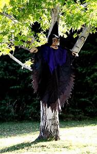 Halloween, Witch, In, Tree, Picture