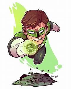 The Art of Derek Laufman — Chibi Green Lantern # ...
