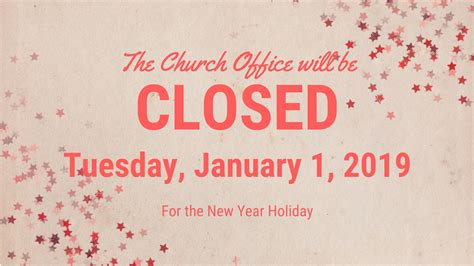 Office Years by Church Office Closed Wesley Memorial Umc Wilmington Nc