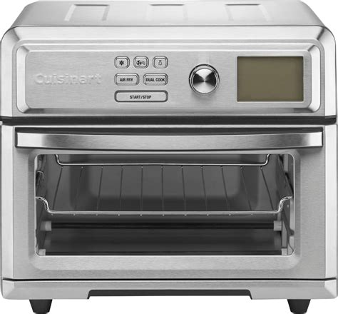 oven toaster cuisinart fryer air digital airfryer toa stainless steel silver ovens programming intuitive options express lifestyle bestbuy buydig