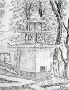 Art By Prem (•) Com: Easy Sketches of Temples