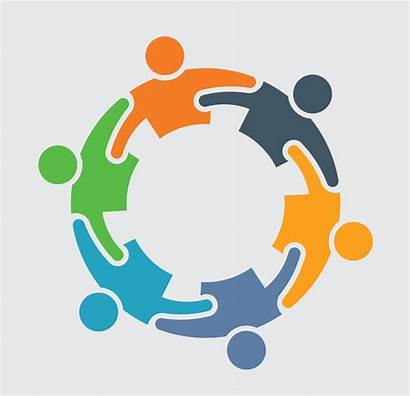 Graphic Team Community Circle Roundtable United Clipart