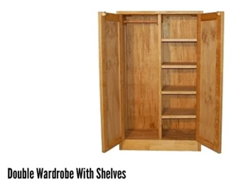 Wardrobe With Shelves by Intensive Use Residential And Dormitory Furniture