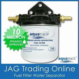 Fuel Filter Water Separator Kit  Inboard  Boat Engine  Marine 10 Micron