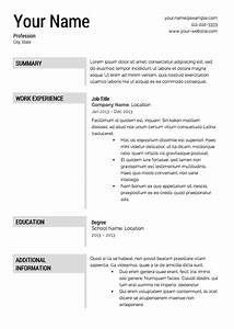 Free resume templates download from super resume for Free resume maker and download