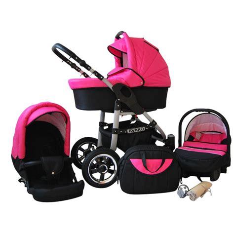 protection siege auto bébé avaro 3 en 1 poussette combinée set complet siège auto