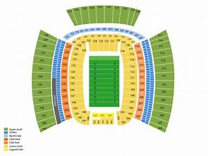 Heinz Field Seating Chart  U0026 Events In Pittsburgh  Pa