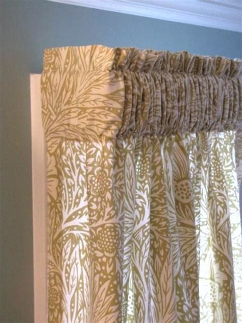 how to make gathered curtains an easy tutorial