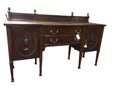 Federal Sideboard by Antique Mahogany Carved Federal Style Sideboard Quot Sold