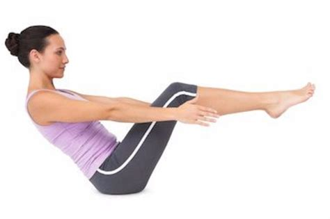 Half Boat Pose In Yoga by These 10 Yoga Positions Will Help You Lose Belly Fat Fast
