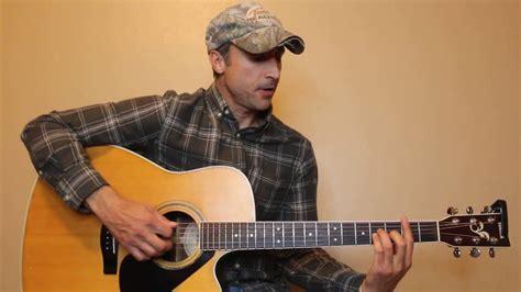 blake shelton guitar turnin me on blake shelton guitar lesson tutorial