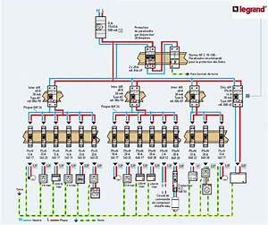 schema montage tableau electrique legrand With schema installation electrique maison individuelle