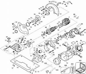 Dewalt Dw364 Parts List And Diagram