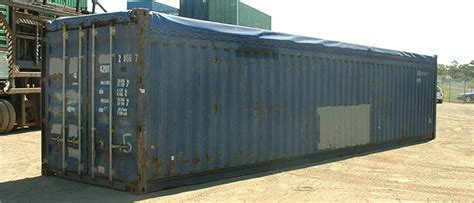 40ft Open Top Shipping Container  Container Options Sydney