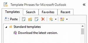 how to use templates in outlook 2010 2013 2007 With outlook 2007 template shortcut
