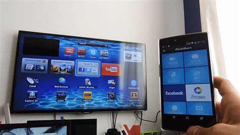como conectar tu dispositivo android  una smart tv