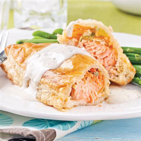 cuisine fut saumon saumon wellington recettes cuisine et nutrition