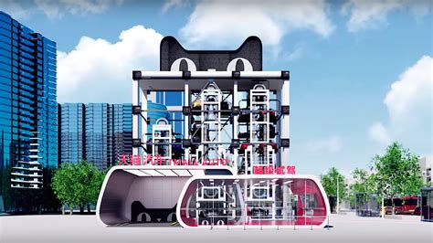 alibaba launches cat shaped car vending machines  china