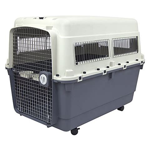 airline approved crate amazon plastic kennels rolling plastic airline approved wire door