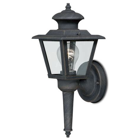 colonial ii 1 light 13 375 quot bronze outdoor wall light at