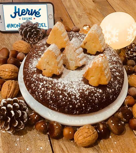 hervé cuisine cake chocolat recettes de noël finalistes du concours monkiffdenoel hervecuisine com