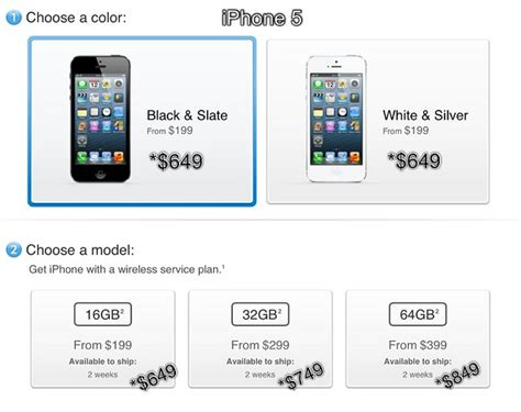iphone 5 price without contract iphone 5 price in usa without contract