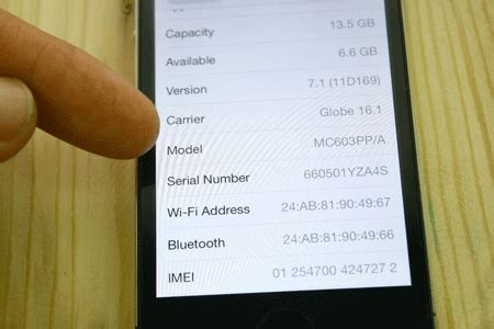 iphone 5 serial number how to identify or discern refurbished iphone Iphon