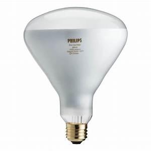 Philips watt equivalent halogen br flood light bulb