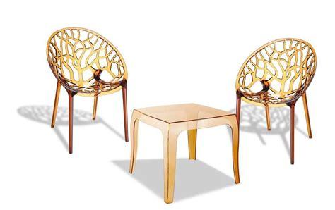 Terrassen Stühle Und Tische by Sitzgruppe Arendal Stapelbar Kunststoff Gartenm 246 Bel Modern