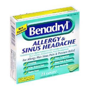 Benadryl Severe Allergy and Sinus