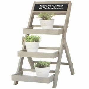 Blumenregal Selber Bauen : k7plus blumentreppe pflanztreppe mit kreidetafel drei etagen 70 cm x 36 cm x 52 cm amazon ~ Orissabook.com Haus und Dekorationen