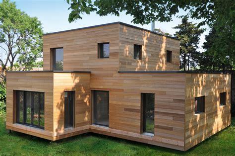 maison moderne en bois prix chaios
