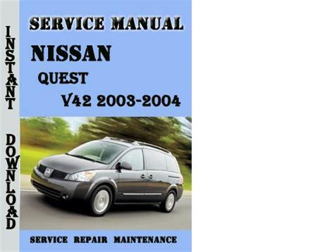 service repair manual free download 2004 nissan quest seat position control downloads by tradebit com de es it