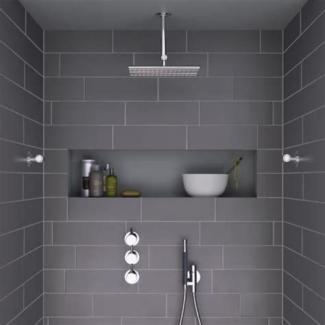 Shower Niche Height - главная bathroom remodel grey bathrooms shower