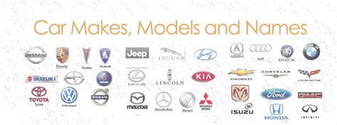 Car Makes, Models And Names
