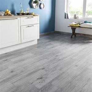 Sol Pvc Exterieur : carrelage sol et mur gris effet bois acadie x ~ Zukunftsfamilie.com Idées de Décoration