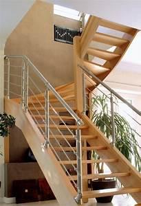 Escalier En U : escalier var les escalier 2 4 tournant 83 fenetres ~ Farleysfitness.com Idées de Décoration