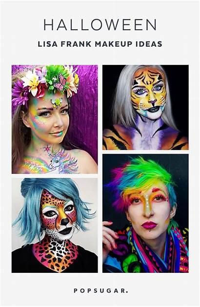 Lisa Frank Halloween Makeup Looks Popsugar Bonkers