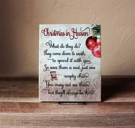 christmas in heaven craft in heaven sign 8x10 poem with by starstruckindustries