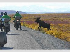 Motorcycle tours in Alaska Photo Gallery