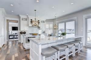 kitchen island with barstools 27 amazing island kitchens design ideas