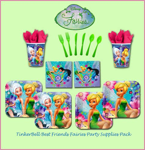 foto de DISNEY TINKERBELL FAIRIES GIRLS BIRTHDAY PARTY SUPPLIES 64