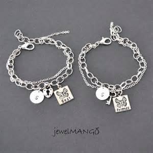 best friend bracelet friendship bracelet set bff key