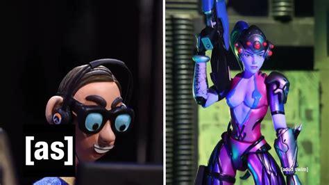 Over The Top Robot Chicken Segment Parodies Overwatch