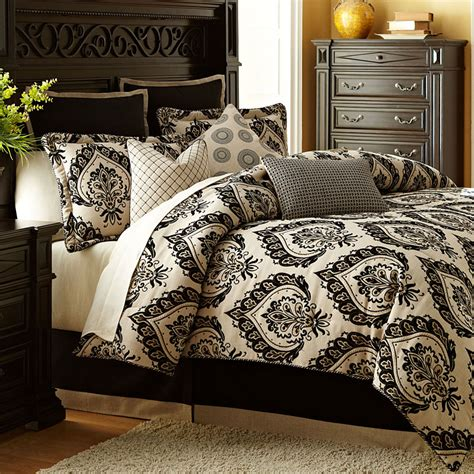 michael bedding equinox luxury bedding set from the michael amini bedding