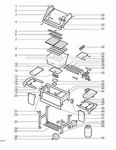 Weber 2291398 Parts List And Diagram   Ereplacementparts Com