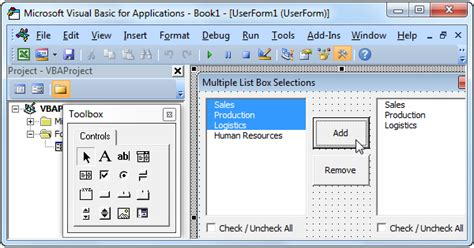 multiple list box selections  excel vba easy excel macros