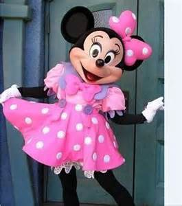 Disney Minnie Mouse Adult Mascot Costumes